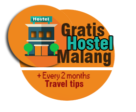 Free night in a hostel in Malang and every 2 months travel tips East Java & Bali