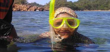 Snorkeling at Gondang Merak - East Java