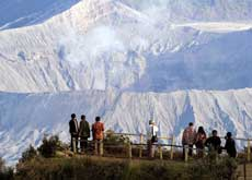 Seruni viewpoint - north of mount Bromo, East Java, Indonesia