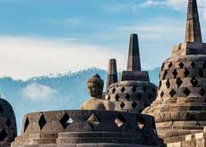 The Borobudur in Central Java