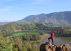 Wonosobo Telaga Warna - Warna Lake - Dieng Plateau, Central Java