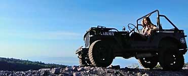 Jeep - tour to Mt. Merapi in Central Java