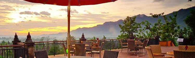 Plataran Borobudur Resort & Spa near the Borobudur - Java