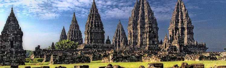 Prambanan Temple Compound, 17 km East of Yogyakarta - Java